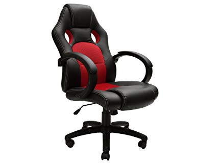 Amazon.com: TMS High Back Race Car Style Bucket Seat Office Chair