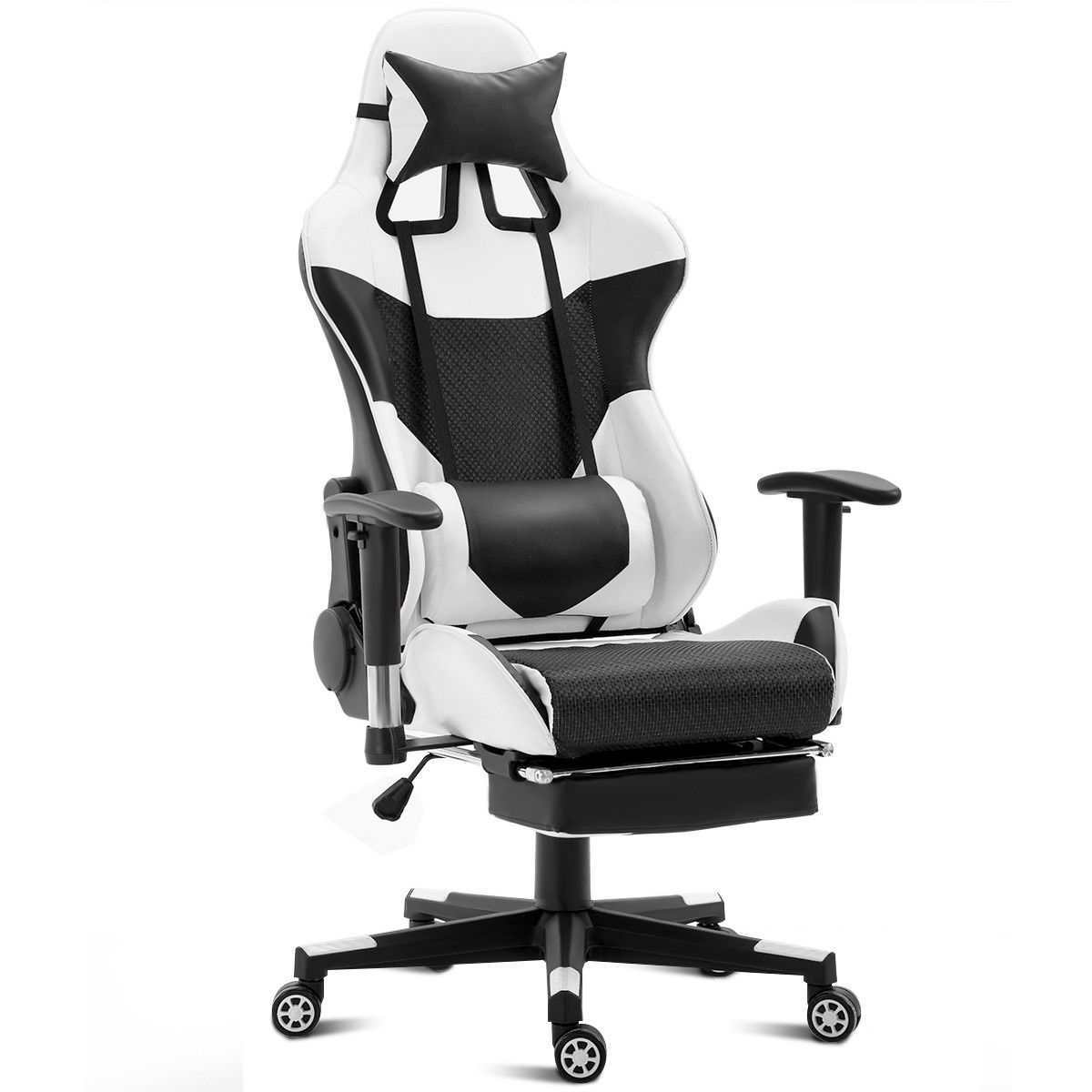 Costway Ergonomic Gaming Chair High Back Racing Office Chair w