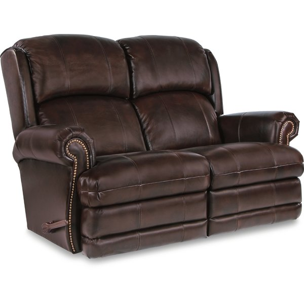 Reclining leather loveseat – the best   gift for a classic lifestyle