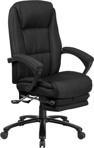 Black Reclining Chair