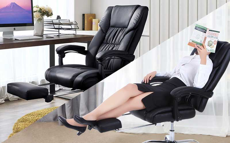 Best Reclining Office Chairs with Footrests (June 2018 Reviews