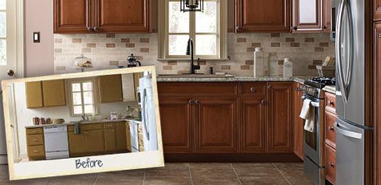 Reface Kitchen Cabinets | H2 Construction Group, LLC