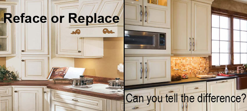 Reface or Replace your Kitchen Cabinets