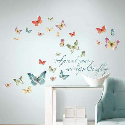 Removable - Wall Decals - Wall Decor - The Home Depot