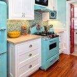 Description of retro kitchen