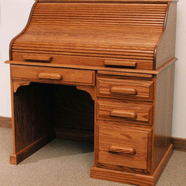 Student Rolltop Desk BW - Walnut Creek Furniture