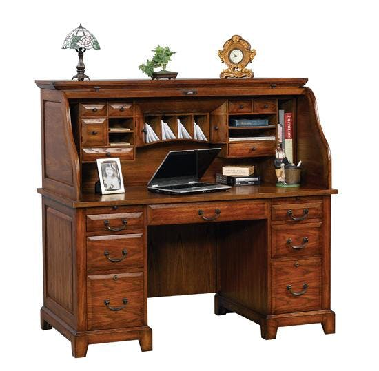 Winners Only Home Office 57 Inches Zahara Roll Top Desk GZ257R