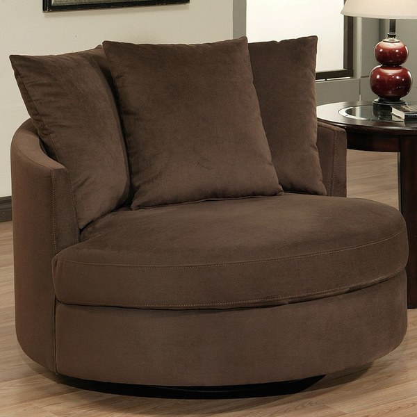 Sofa Excellent Round Spinning Chair Swivel Living Room On