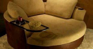 Round Sofa Chair - Thearmchairs.com   chairs in 2019   Round sofa