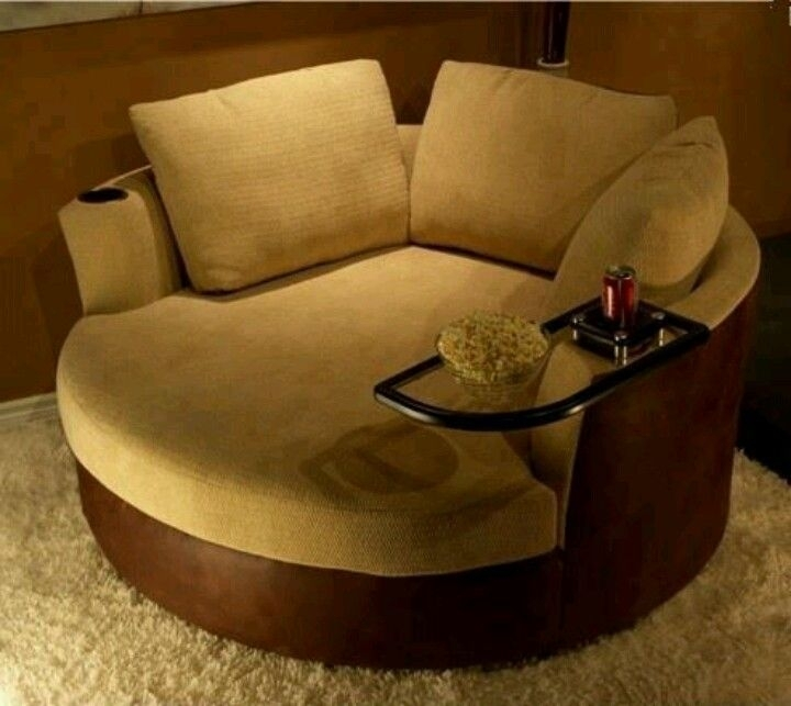 Cozy Brilliant Round Living Room Chairs With Emejing Round Couch