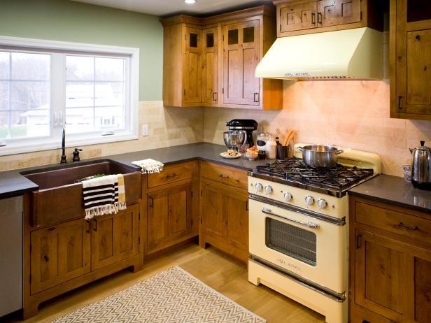 Rustic Kitchen Cabinets: Pictures, Options, Tips & Ideas | HGTV