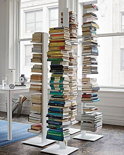 Tall one in white, please. Sapien Bookcases | Design Within Reach