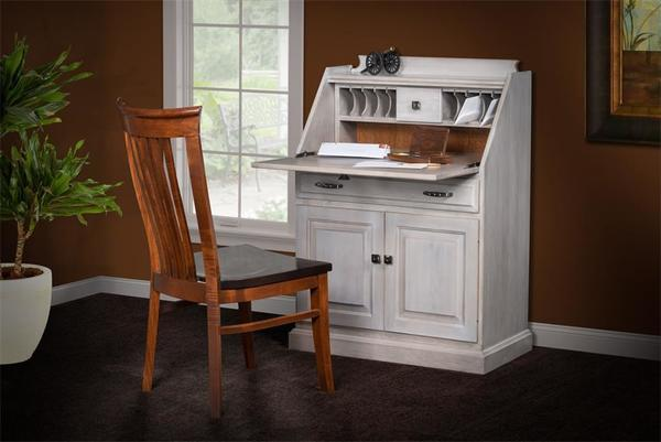 Farmhouse Secretary Desk from DutchCrafters Amish Furniture