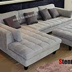 Living room furniture – sectional couch   with chaise