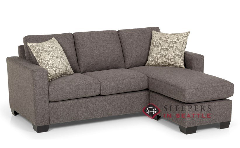 Customize and Personalize 702 Chaise Sectional Fabric Sofa by