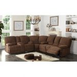 Stylish sectional sofa recliner