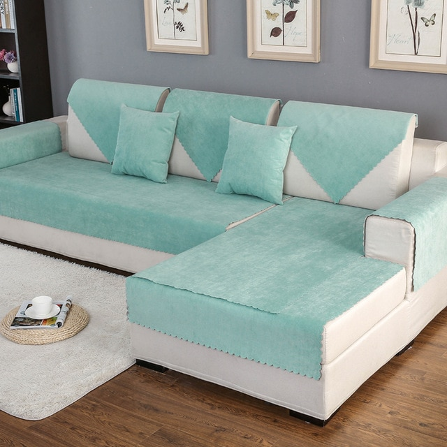 Sofa Slipcover Sectional Couch Covers Modern Corner Waterproof Sofa