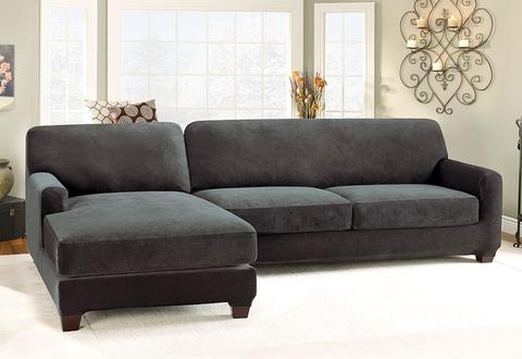 Sectional Covers & Chaise Slipcovers u2013 SureFit