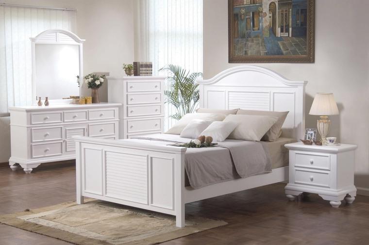 White shabby chic bedroom furniture   Devine Interiors