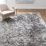 Variable shag rug