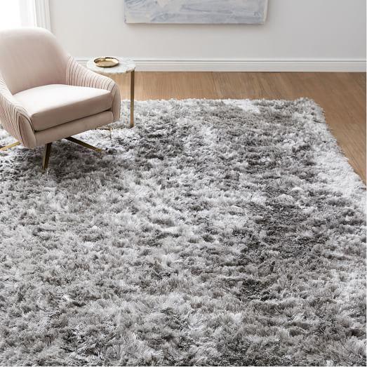 Variable shag rug