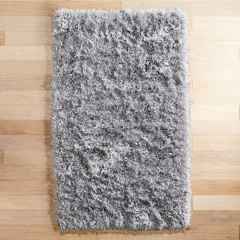 Confetti Light Gray 8x10 Shag Rug | Pier 1