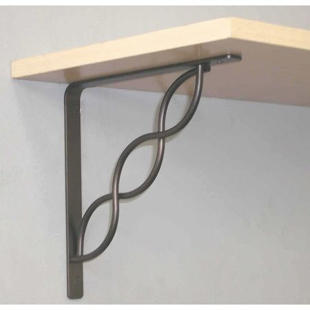 John Sterling RP-0091-8BK Shelf Bracket - Walmart.com