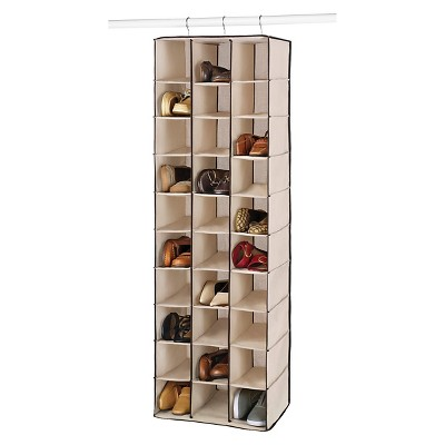 Whitmor 30 Section Hanging Shoe Shelves - Brown : Target