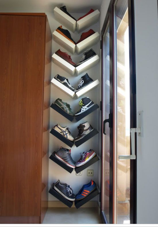Easy Shoe Storage and Closet Organization Ideas | Shoe organizer