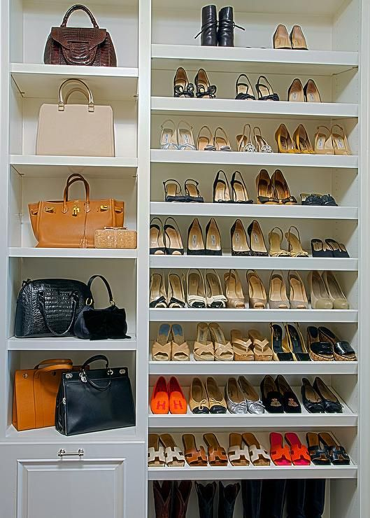 Built in shoe shelves | Closets | Pinterest | Closet bedroom, Closet