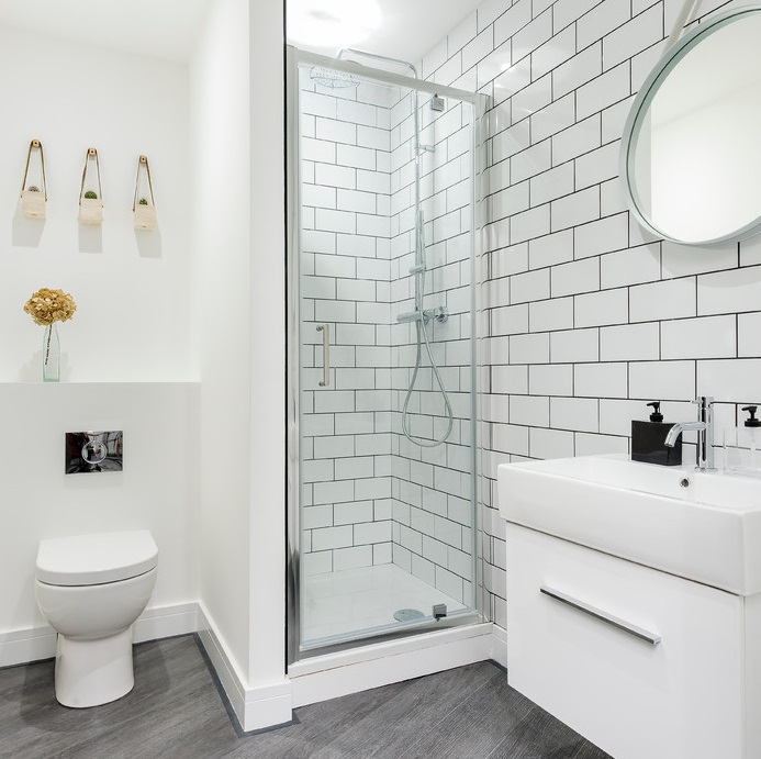 How to come up with an aesthetic shower   room design