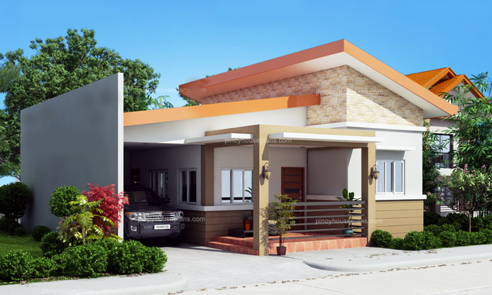 ONE STORY SIMPLE HOUSE DESIGN | Home Design
