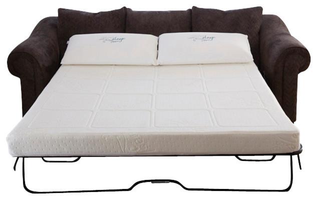 Gel Memory Foam Sofabed Sleeper Replacement Mattress - Modern