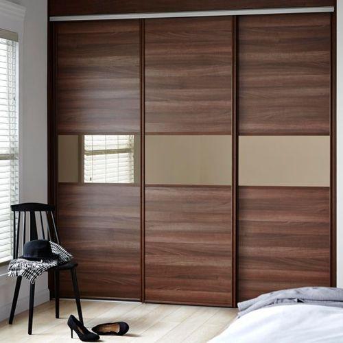 Sliding Door Wardrobes at Rs 680 /square feet | मॉड्यूलर