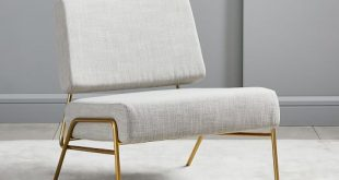 Wire Frame Slipper Chair | west elm