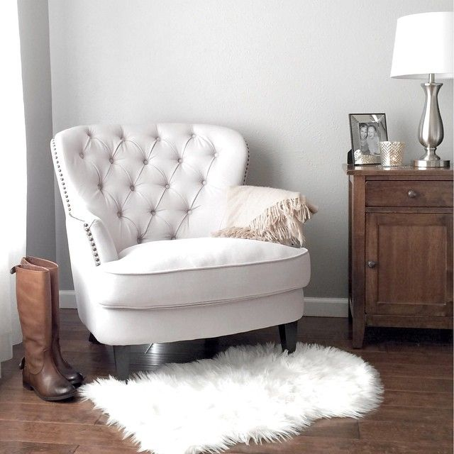 Pin by Danielle Boone on chairs in 2019 | Pinterest | White armchair