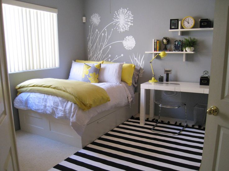 45 Inspiring Small Bedrooms u2026 | For the Home in 2019u2026