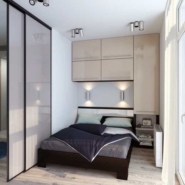 15 Adorable & Fully Functional Small Bedroom Design Ideas