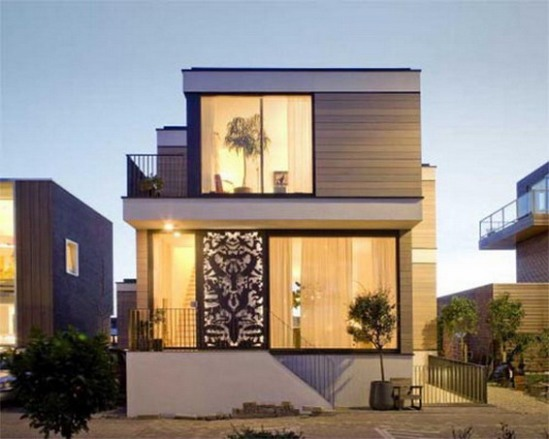 Architecture. The Best Design Of Small Unique House Plans With The