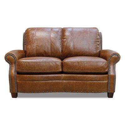 Ashton Leather Modular Loveseat, #Sofas, #LLR1245 | Entertainment