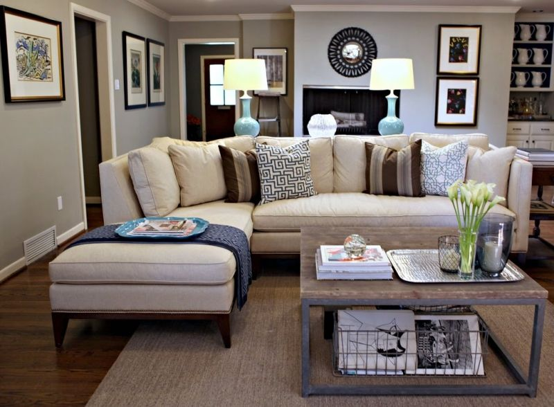 Living Room Decorating Ideas on a Budget - Living Room. Love this