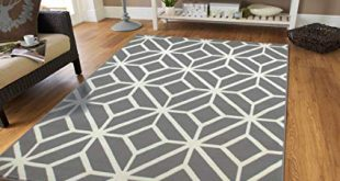 Amazon.com: Gray Moroccan Trellis 2'0x3'0 Area Rug Carpet Grey and