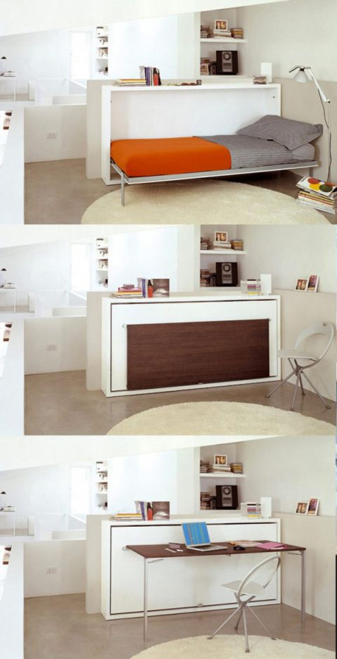 9 + Awesome Space-Saving Furniture Designs | Home/Decorating
