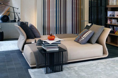 Contemporary Comfortable Living Room Sofa Bed