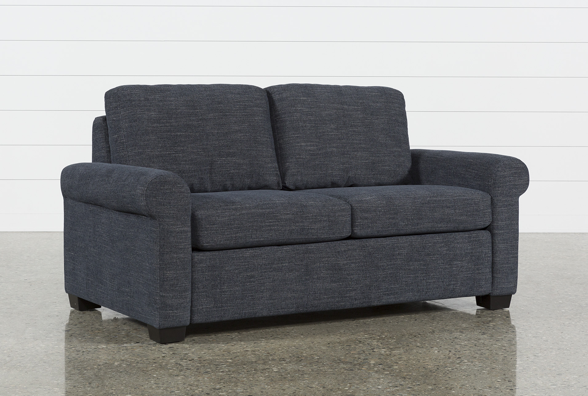Alexis Denim Full Sofa Sleeper | Living Spaces