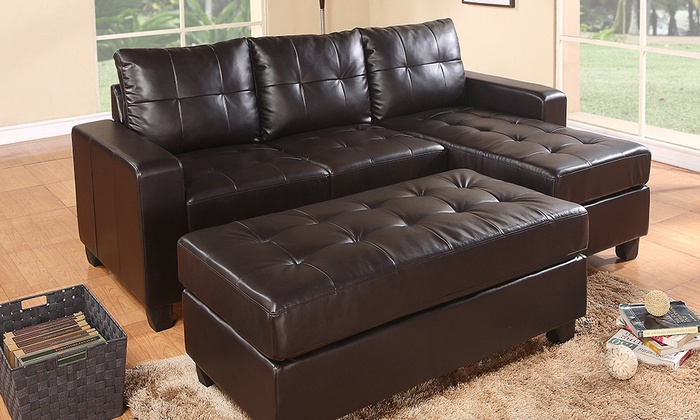 Leicester sofa deal - £349 for 3-seat leather sofa