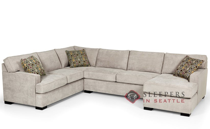 Customize and Personalize 146 True Sectional Fabric Sofa by Stanton