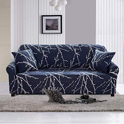Amazon.com: Lamberia Printed Sofa Cover Stretch Couch Cover Sofa