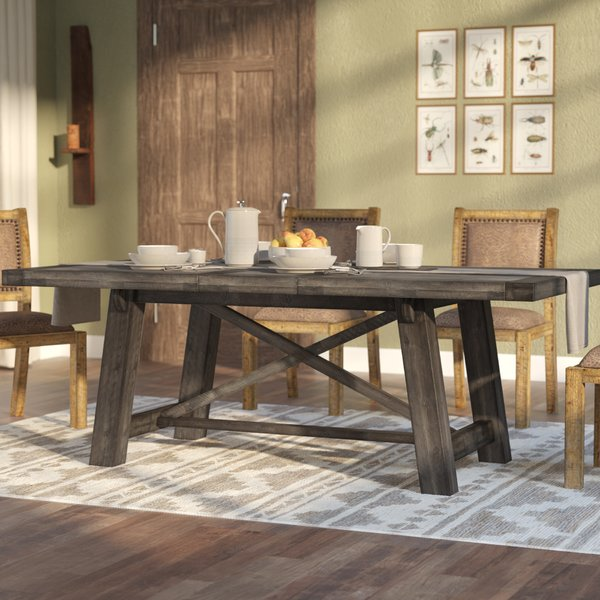 Laurel Foundry Modern Farmhouse Colborne Extendable Solid Wood