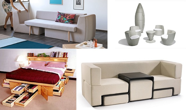 15 Space Saving Furniture Ideas | Home Design, Garden & Architecture